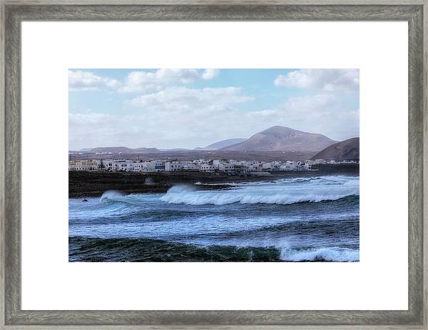 La Santa - Lanzarote Framed Print