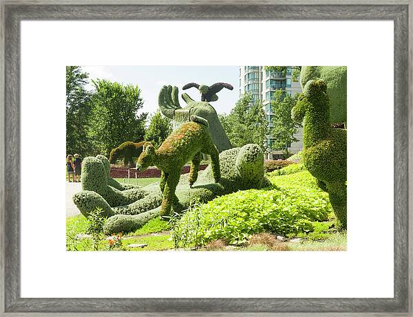 Mosaicanada 150 Display 5 Framed Print