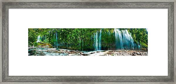 Mossbrae Falls Framed Print