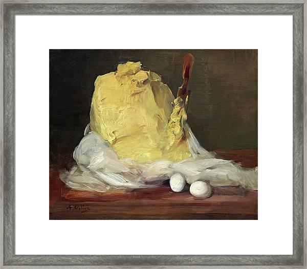 Mound Of Butter Framed Print