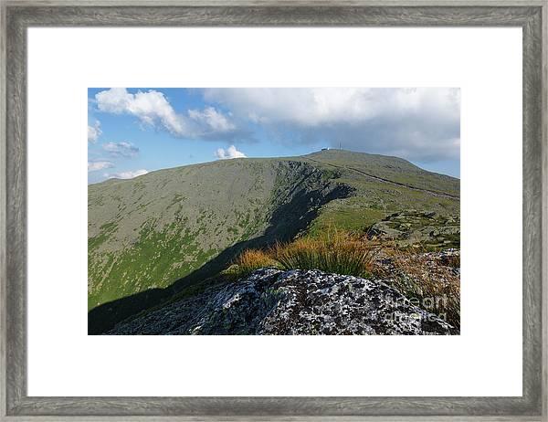 Mount Washington - New Hampshire White Mountains Framed Print