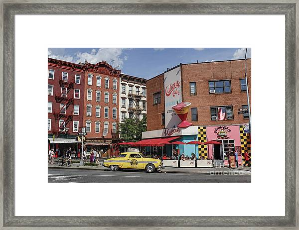 Framed Print featuring the photograph New York by Juergen Held