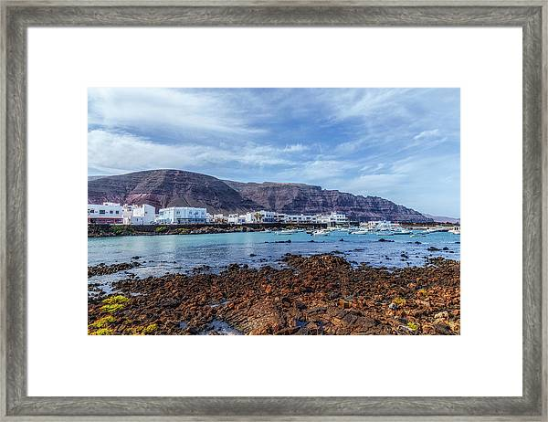 Orzola - Lanzarote Framed Print