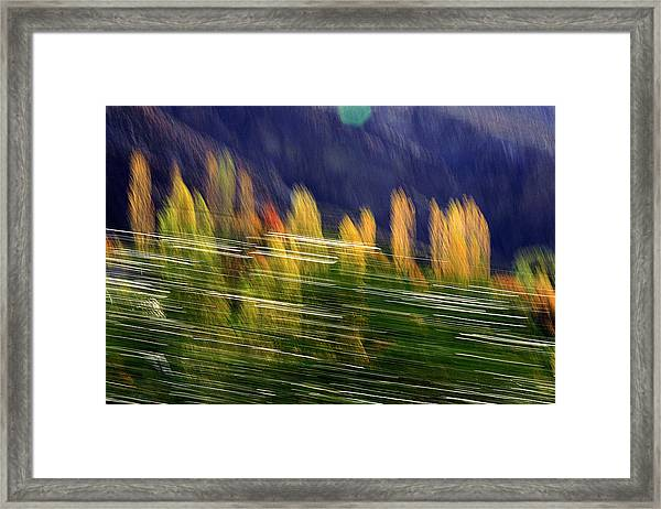 Passing Framed Print by Robert Shahbazi
