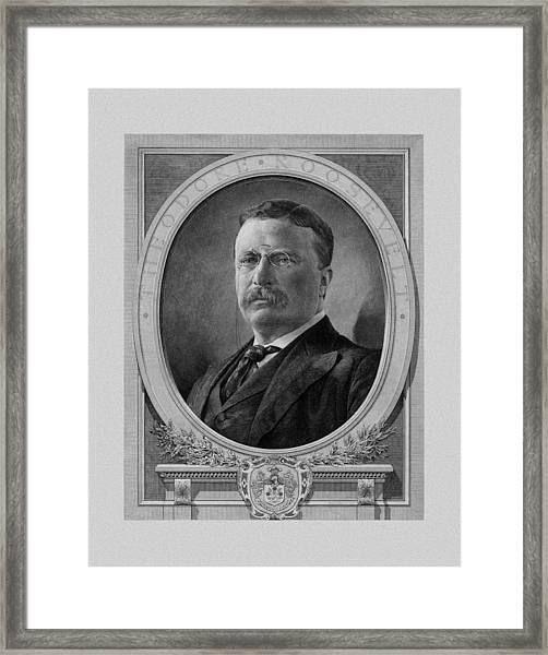 President Theodore Roosevelt Framed Print