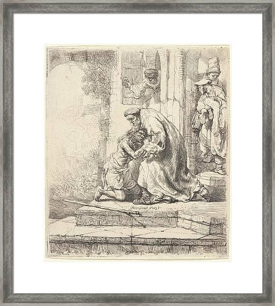 Return Of The Prodigal Son Framed Print