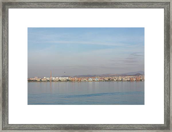 Shoreline Reflections Framed Print