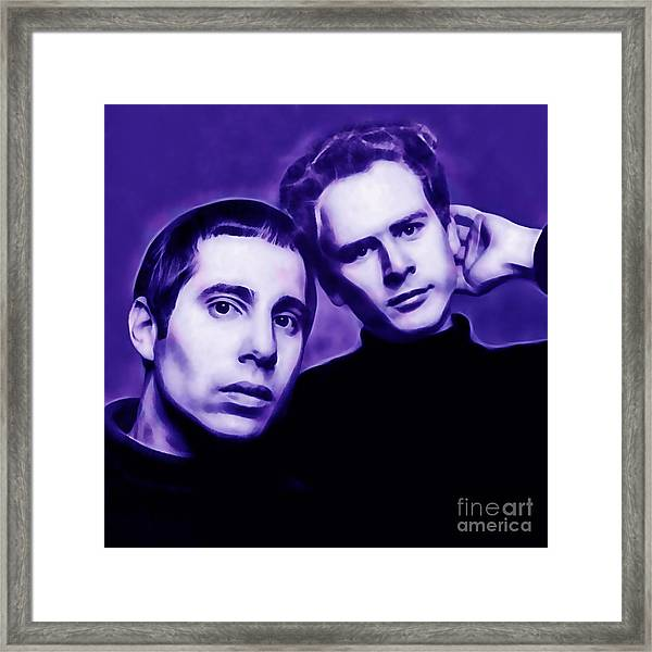 Simon And Garfunkel Framed Print