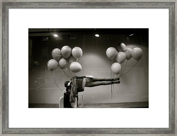 Soaring Framed Print by Jez C Self