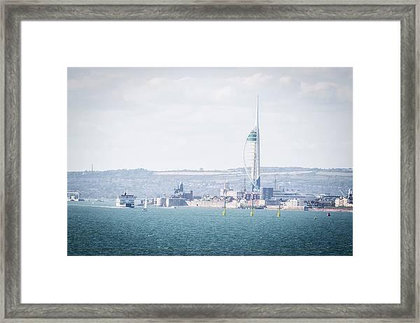 Spinnaker Tower Framed Print