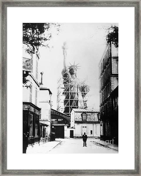 Statue Of Liberty, Paris Framed Print