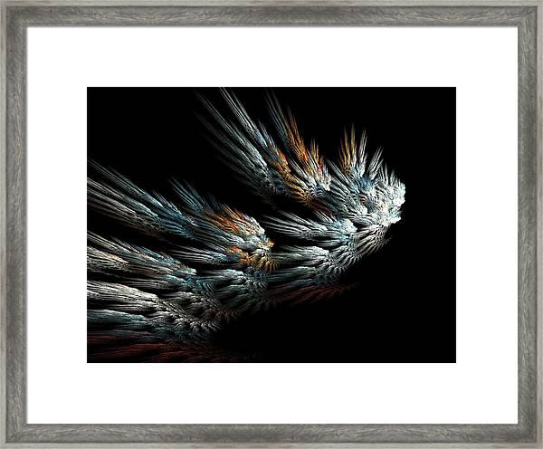 Taking Wing Framed Print