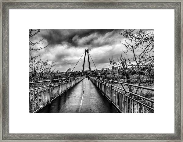 The Art Of Being Alone Framed Print