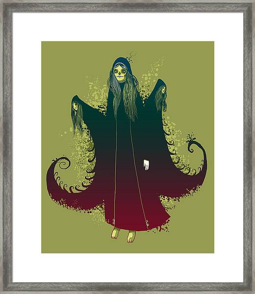 3 Witches Framed Print by Michael Myers