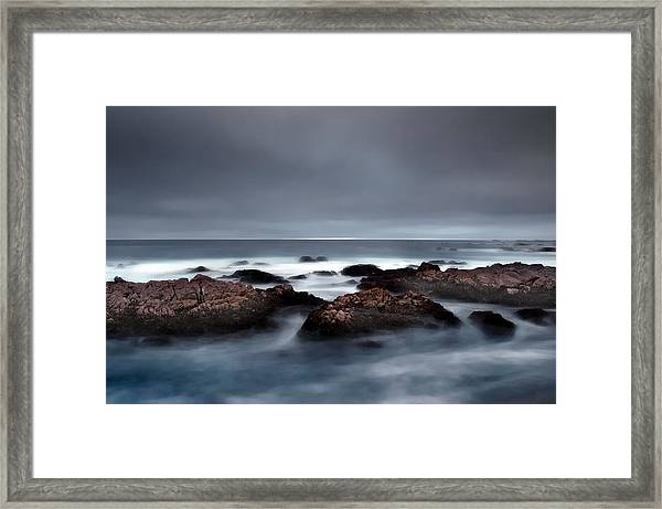 30 Seconds Of Moonlight Framed Print