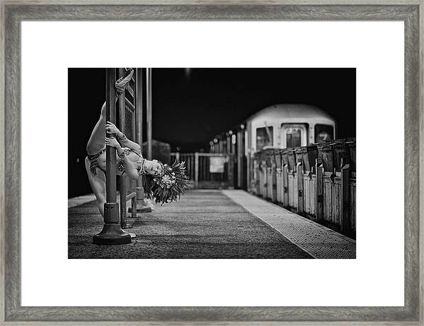 The Jackson Heights  Photo Project Framed Print