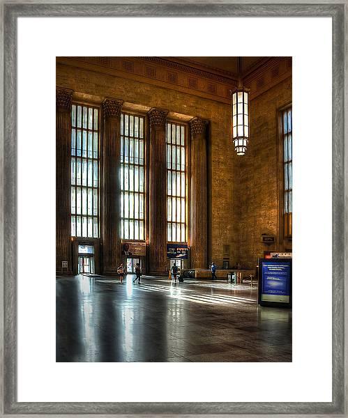 30th Street Station Framed Print