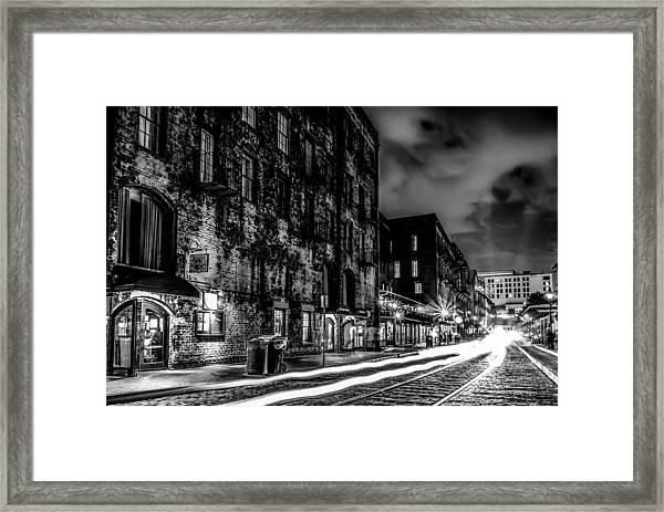 Savannah Georgia Waterfront And Street Scenes  Framed Print