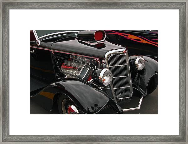 35 Cabriolet Framed Print