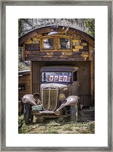 35 Harvester  Framed Print