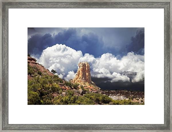 San Rafael Swell  Framed Print