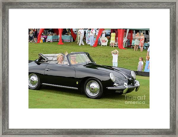 356 Porsche Framed Print