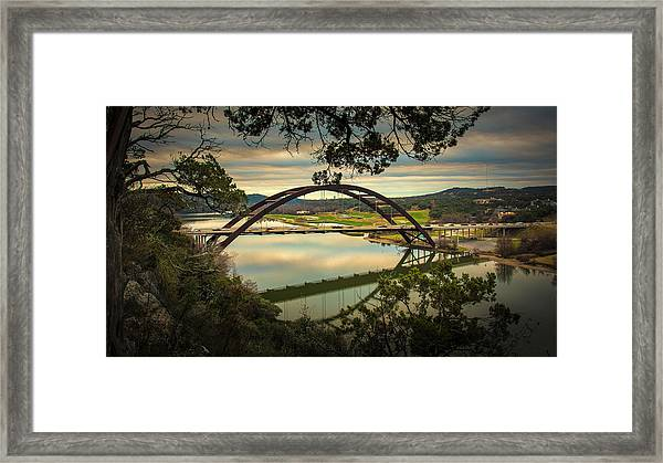 360 Bridge Framed Print
