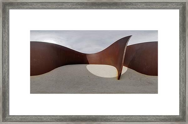 360 Serra Framed Print