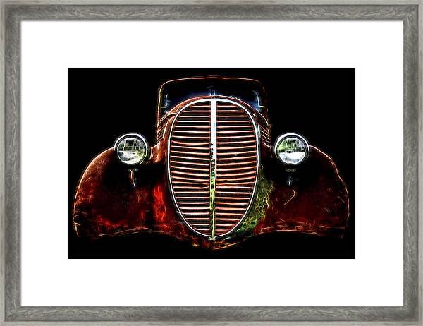 37 Chevy Framed Print