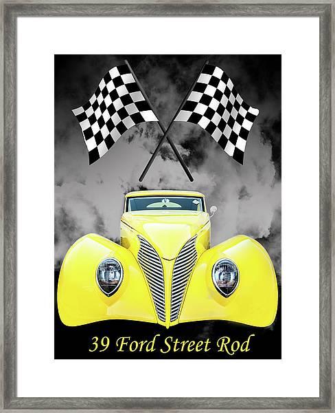 39 Ford Framed Print