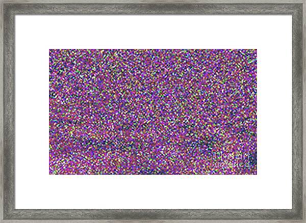 3d Image Stereogram Framed Print
