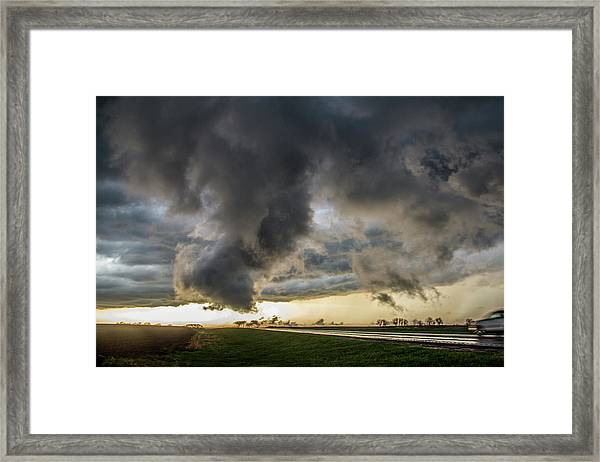 3rd Storm Chase Of 2018 051 Framed Print