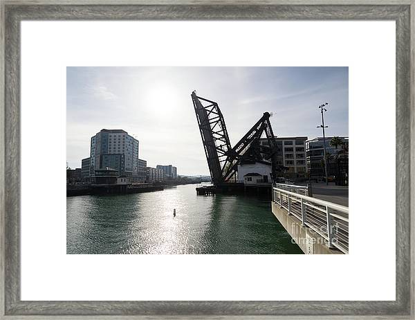 3rd Street Bridge Lefty O'doul Bridge San Francisco Dsc5778 Framed Print