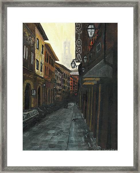 4 Borgio Dei Greci Framed Print