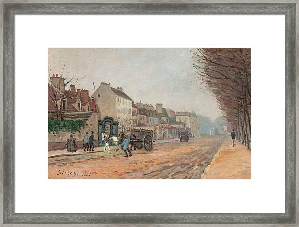 Boulevard Heloise, Argenteuil Framed Print