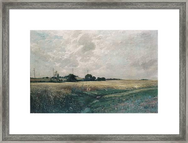 Broad Acres Framed Print