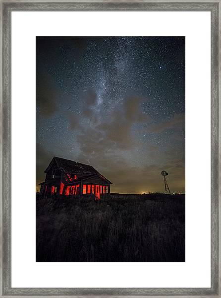 Dark Place  Framed Print