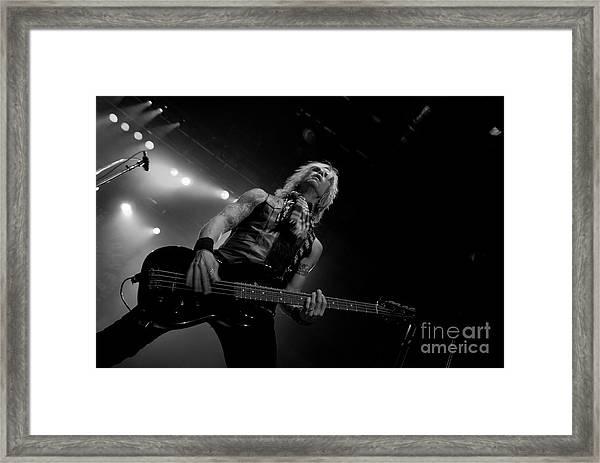 Duff Mckagan Framed Print