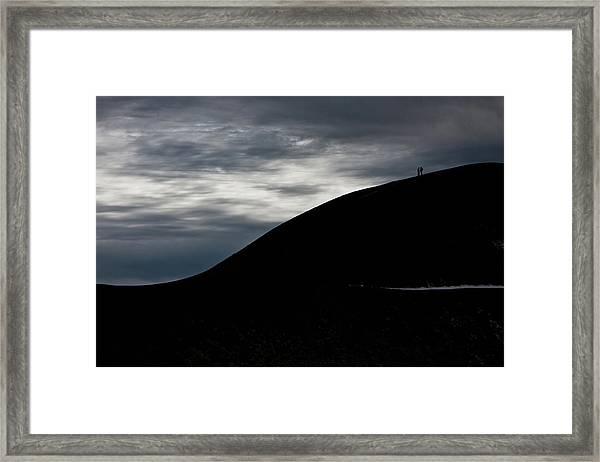 Etna, The Volcano Framed Print