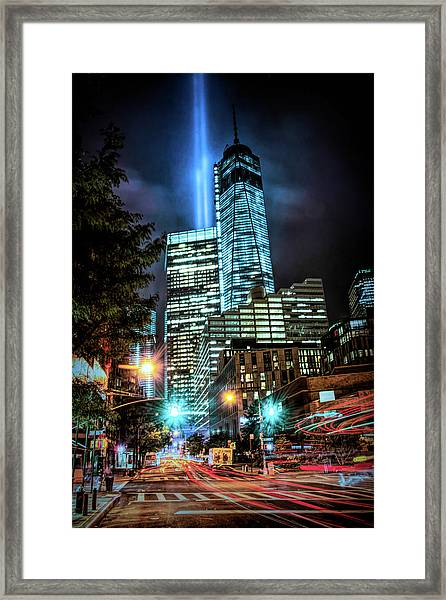 Freedom Tower Framed Print