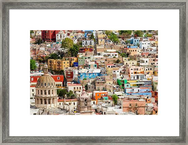 Guanajuato, Mexico. Framed Print