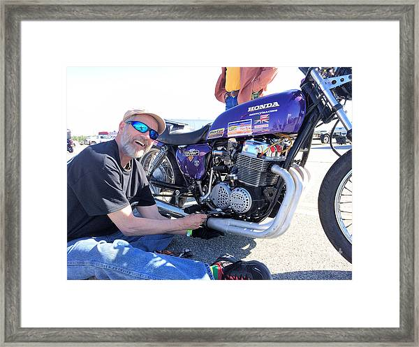 Man Cup 4 08 2016 By Jt Framed Print