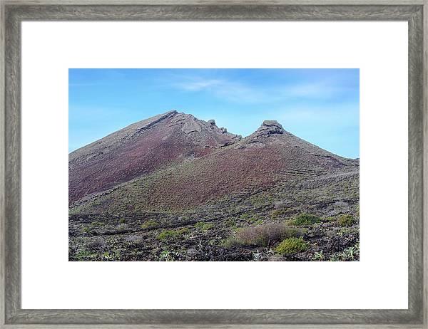 Monto Corona - Lanzarote Framed Print