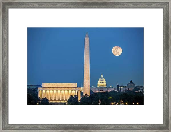 4 Monuments Framed Print