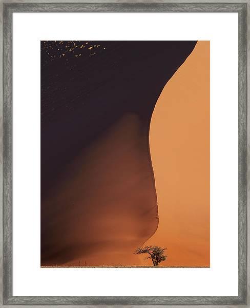 Namibia Dune Framed Print