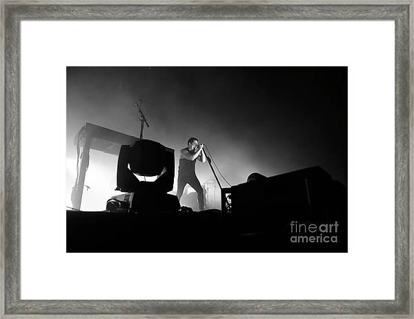 Nine Inch Nails Framed Print