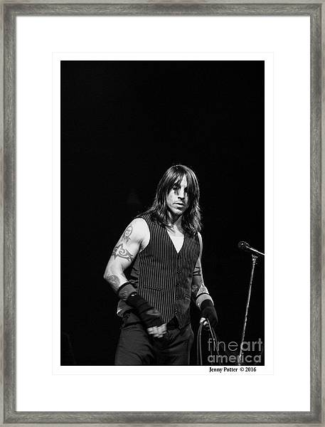 Red Hot Chili Peppers  Framed Print