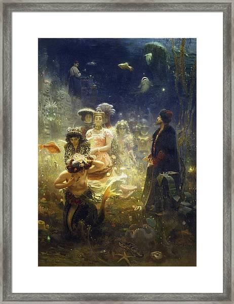 Sadko Framed Print by Ilya Repin