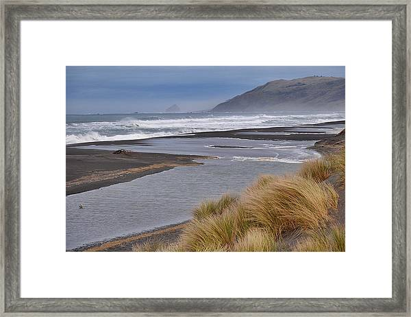 The Lost Coast Framed Print