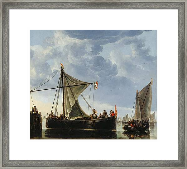 The Passage Boat Framed Print